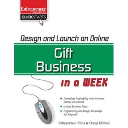 Design and Launch an Online Gift Business in a Week - eBook