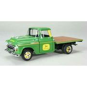 1957 Chevrolet Flatbed Truck John Deere 1/25 Diecast Model by Speccast