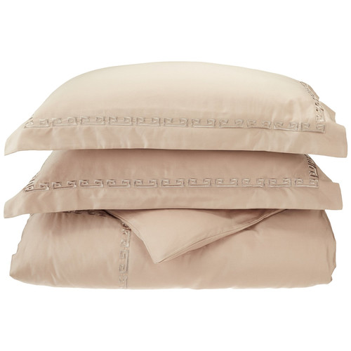 Simple Luxury Reversible Duvet Cover Set