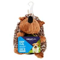 "Vibrant Life Hedgehog Dog Toy, 6"""