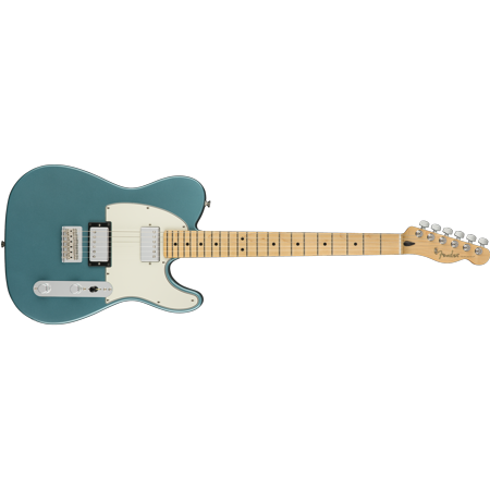 Fender Player Series Telecaster HH Configuration, Tidepool Electric Guitar -DEMO Electric Guitar Player