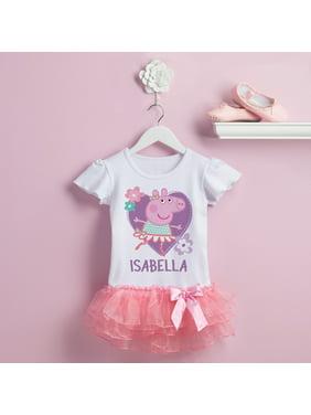b3da7c8cf Product Image Personalized Peppa Pig Ballerina Tutu Tee