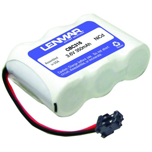 Lenmar Cbc-316 Cordless Phone Battery For Panasonic, Toshiba, Sony, Uniden (cbc316)