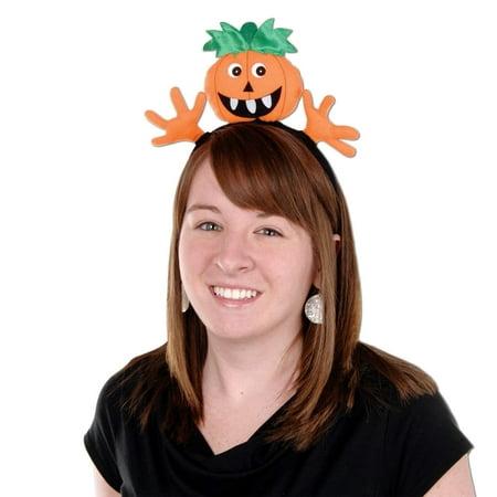 Loom Bands Halloween Pumpkin (Halloween Pumpkin Headband Party Accessory (1/Pkg))