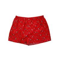 Mens Valentines Day Hearts & Unicorns Satin Underwear Boxers Boxer Shorts