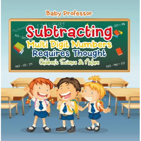 Subtracting Multi Digit Numbers Requires Thought | Children's Arithmetic Books - eBook](Double Digit Subtraction)
