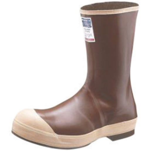 Servus By Honeywell Size 10 Neoprene III Copper Tan 12'' Neoprene Boots With Chevron Outsole, Steel Toe And Removable Insole