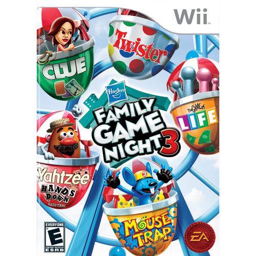 Hasbro Family Game Night 3 - Wii