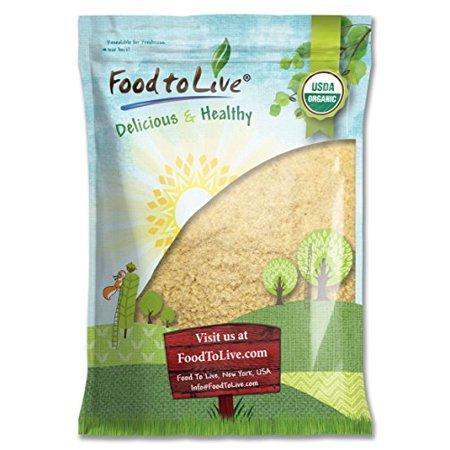 Food To Live   Certified Organic Kamut Khorasan Wheat Flour  Stone Ground Powder  100  Whole Grain Meal  Non Gmo  Bulk   20 Pounds
