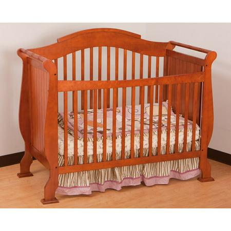 Storkcraft Valentia Fixed Side Convertible Crib In Cognac