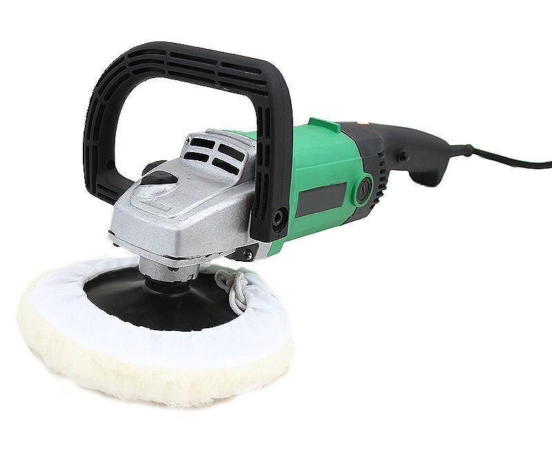 """GHP 1200W 11Amp Variable Speed Die Cast Aluminum Head Spindle Lock 7"""" Buffer Polisher by"""