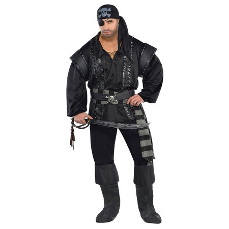 Dark Sea Scoundrel Adult Costume - Plus Size (Jp Halloween)