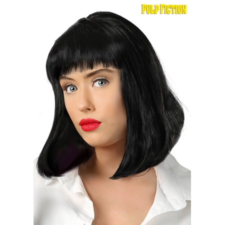 Mya Halloween (Pulp Fiction Mia Wallace Wig for)