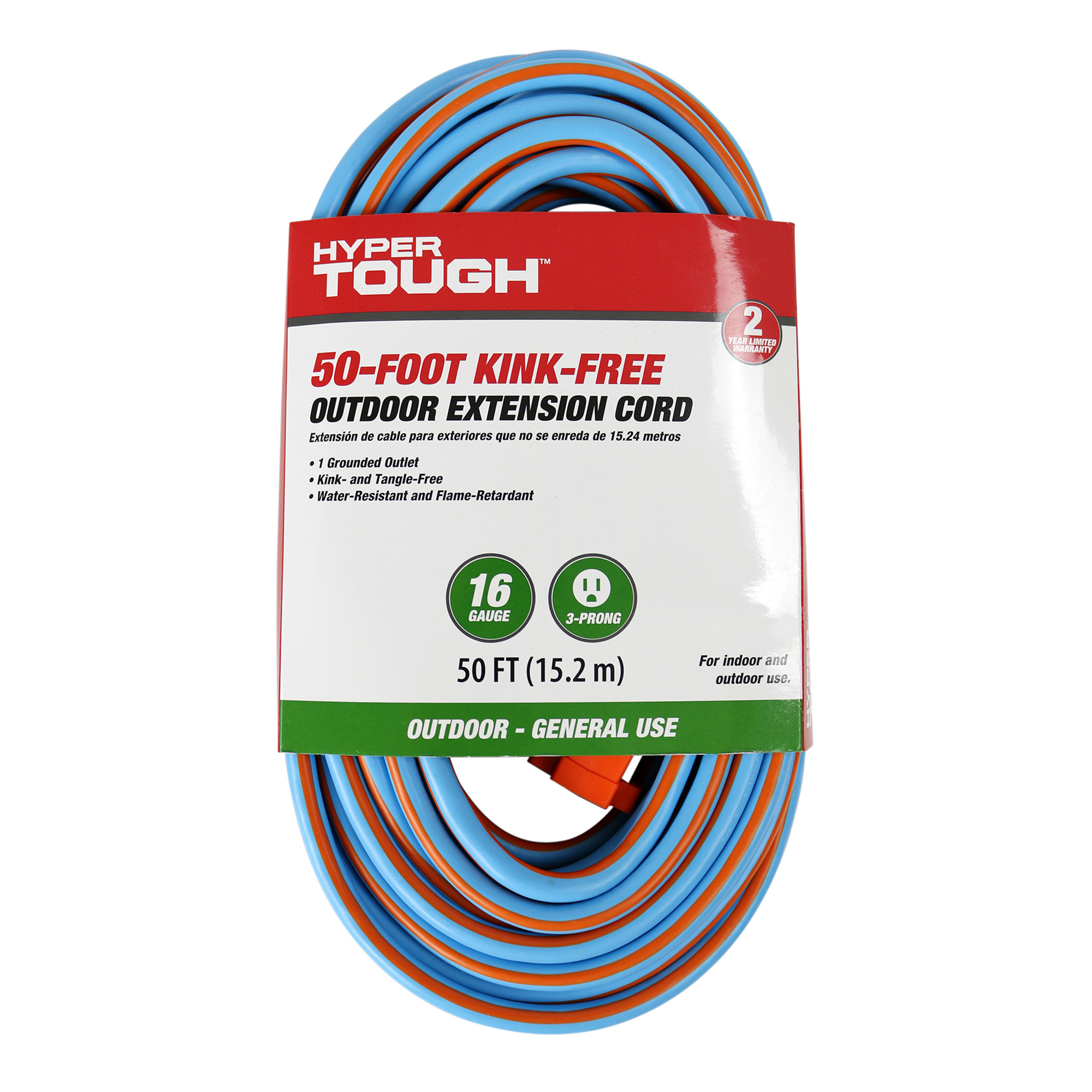 Hyper Tough 50' 16/3 Kink Free