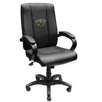 29 x 13 x 23 in. Minnesota Wild NHL Office Chair 1000 - Black