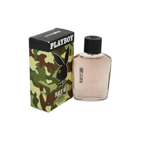Play It Wild BY Playboy Eau De Toilette Spray 3.4 oz Men - Playboy Thanksgiving
