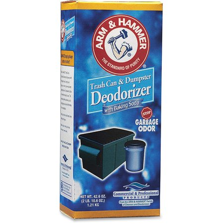 Arm & Hammer Baking Soda Deodorizer - 42.60 Oz [2.66 Lb] - 9 / Carton (3320084116ct) ()