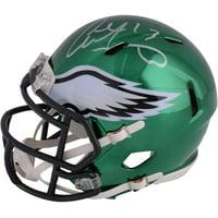 Product Image Alshon Jeffery Philadelphia Eagles Autographed Riddell Chrome  Alternate Speed Mini Helmet - Fanatics Authentic Certified ea9381eb9