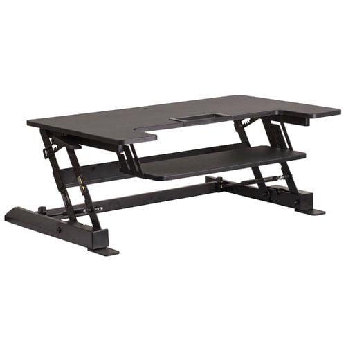 Symple Stuff Adjustable Standing Desk Converter