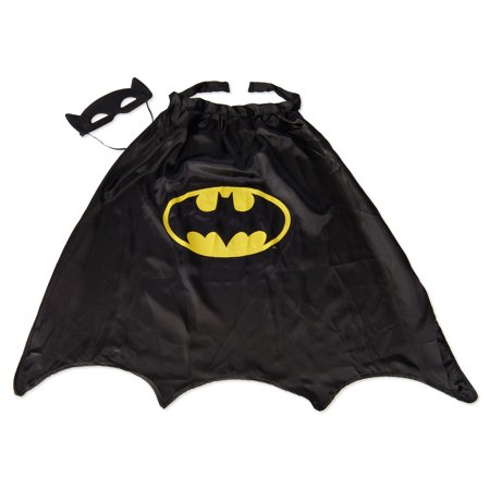 Batman Mask and Cape Costume Combo