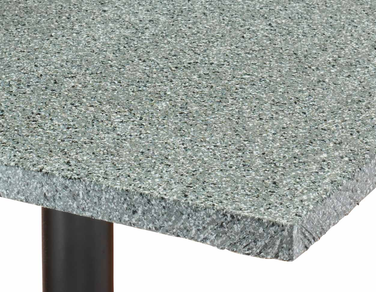 Granite Vinyl Elasticized Banquet Table Cover 36 Quot Square