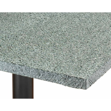 Granite Vinyl Elasticized Banquet Table Cover - 36