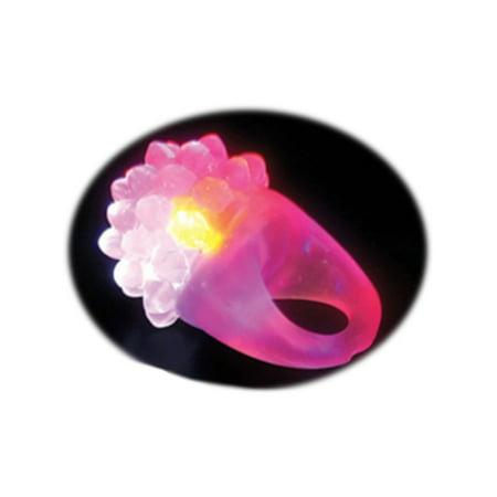 Led Light Up Costumes (Pink Flashing LED Light Up Costume Accessory Bumpy Gel)