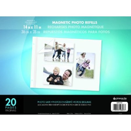 Pinnacle Frame 11 By 14 Inch Magnetic Refillable Photo Album Large