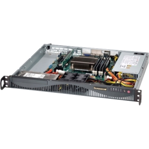 Supermicro SuperServer 5018D-MF Barebone System - 1U Rack-mountable - Intel C222 Express Chipset - Socket H3