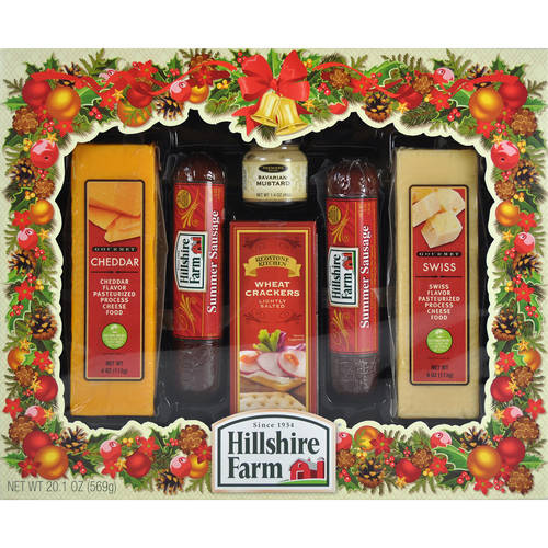 Hillshire Farm Holiday Sausage & Cheese Assortment, 6 pc