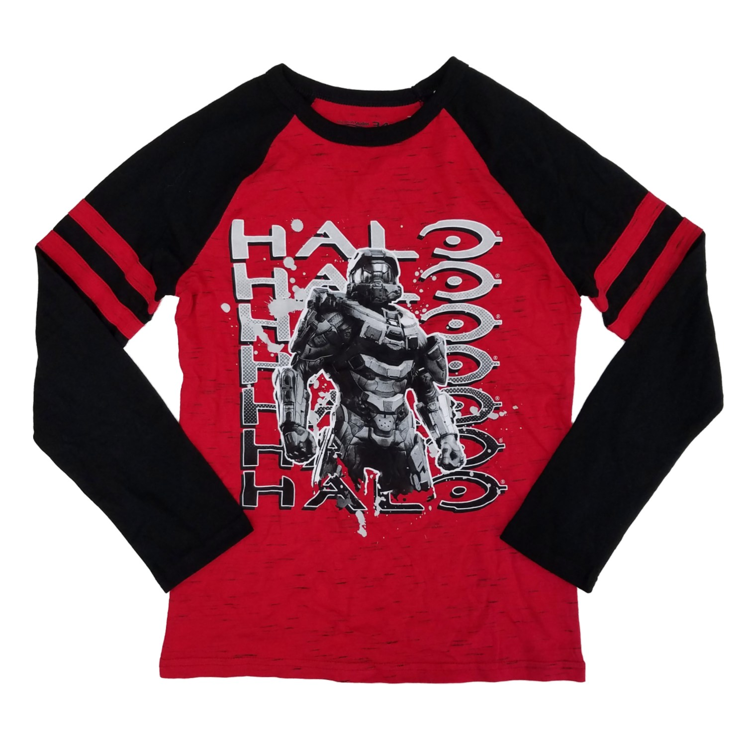 8 Boys Halo Graphic Long Sleeve Tee size Small