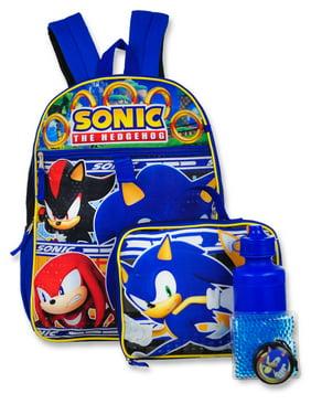 Sonic the Hedgehog 5-Piece Backpack Set