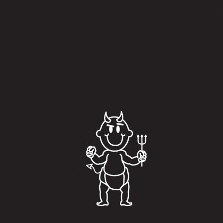 Family Car Decal - Devil Baby](Devil Babies)