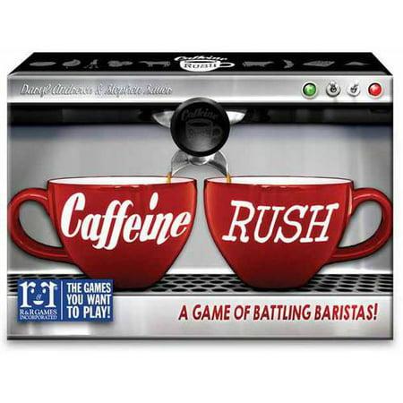 R Games Caffeine Rush Battling Barista Game
