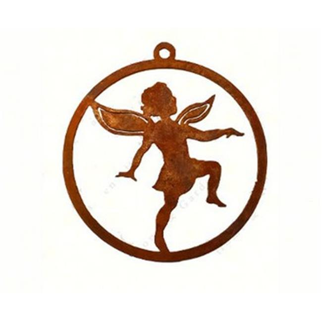 California Home and Garden CHG852 Handcrafted With Steel - Girl Fairy Ornament