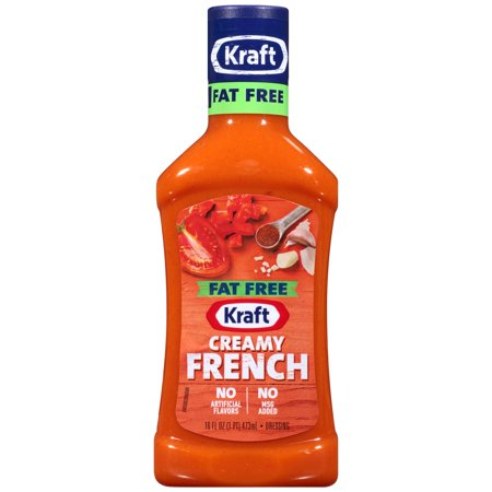 Fat Free Sweet - Kraft Fat Free Creamy French Dressing 16 fl. oz. Bottle