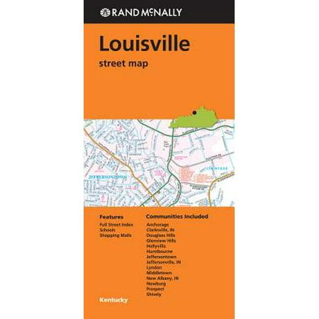 Folded Map Louisville Ky Street: 9780528008795](Party Store Louisville Ky)