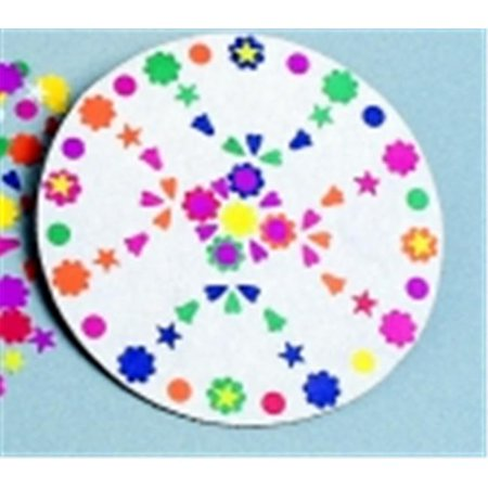 Rock-Tenn Paper Pizza Round Design Circle - 10 x 0.18 in. - Pack (10 Round Paper)
