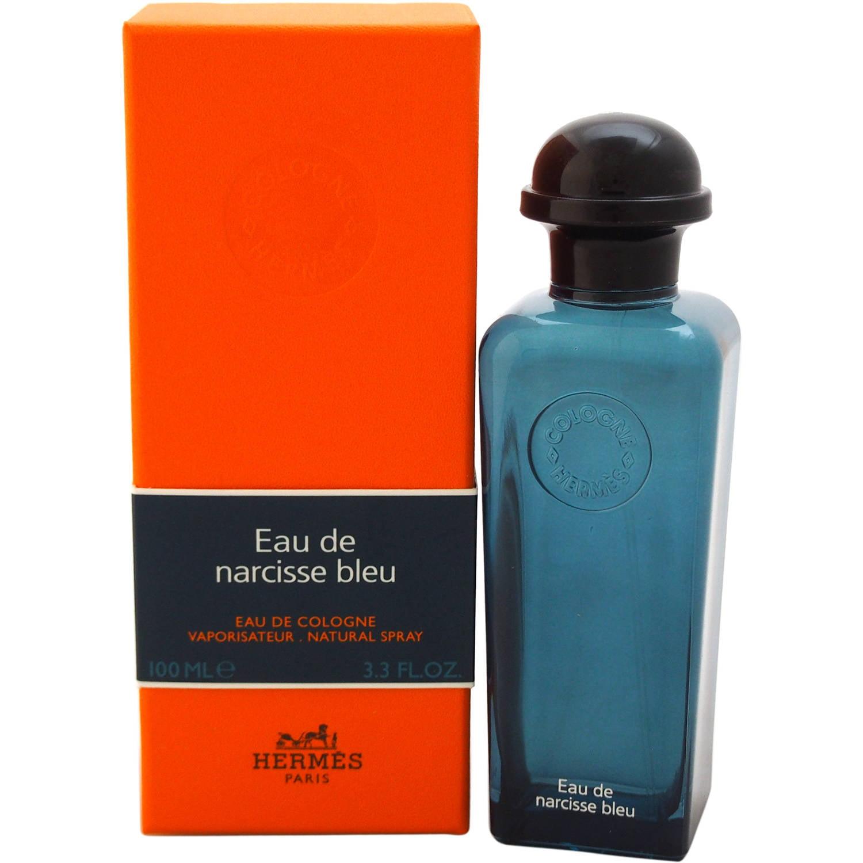 Hermes Eau de Narcisse Bleu Eau de Cologne for Unisex, 3.3 oz