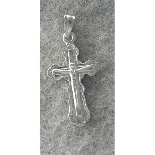 Marinas Fine Jewelry 14kt White Gold Cross Pendant