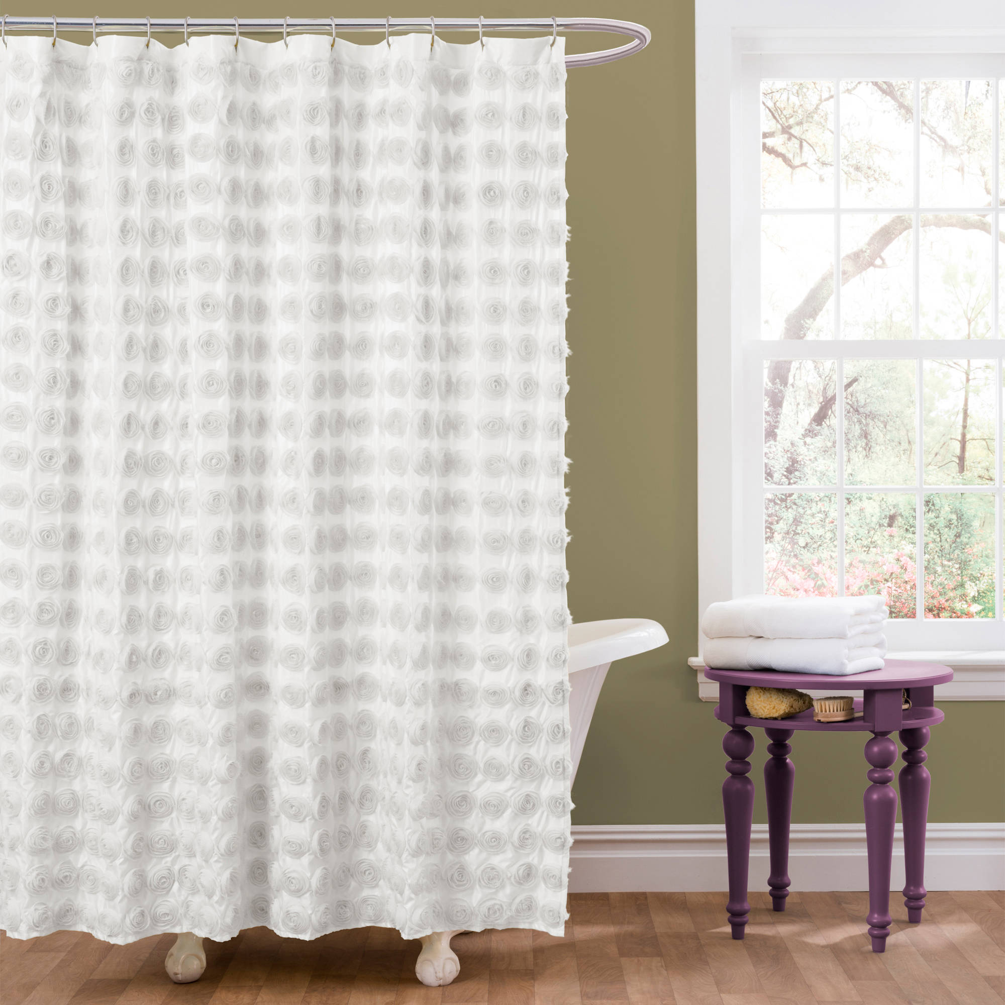 Essential Living Emma Shower Curtain