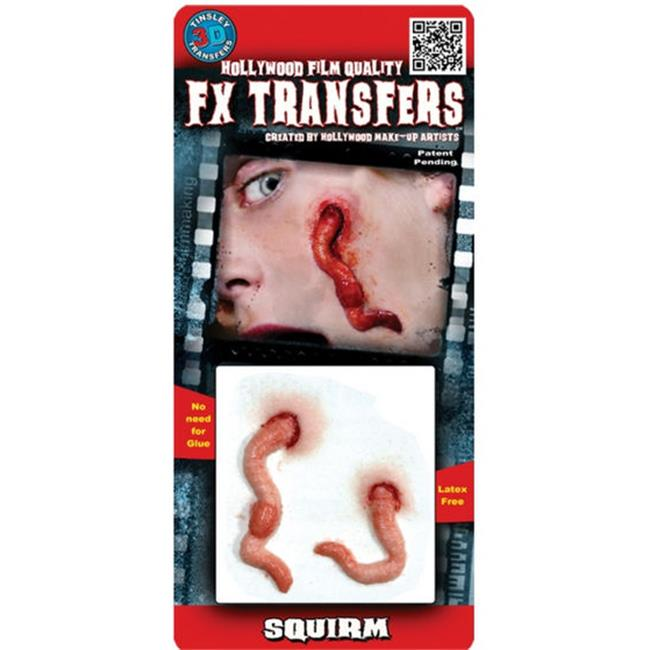 Costumes for all Occasions DFXS407 Squirm 3d Prof Tattoo
