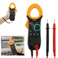 EEEKit Digital Clamp Meter, Multimeter Volt Meter with Manual and Auto Ranging, AC DC Multimeter Current Voltage Voltmeter Autoranging Electric Tester, Measures Voltage Tester, Current, Resistance