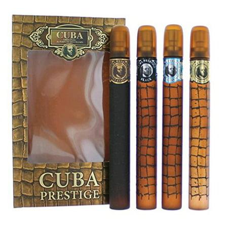 Cuba Prestige by Cuba, 4 Piece Gift Set for (Prestige Gift)