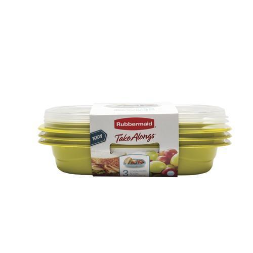 Newell Rubbermaid Rubbermaid Snack To Go 3.7cup 3pk