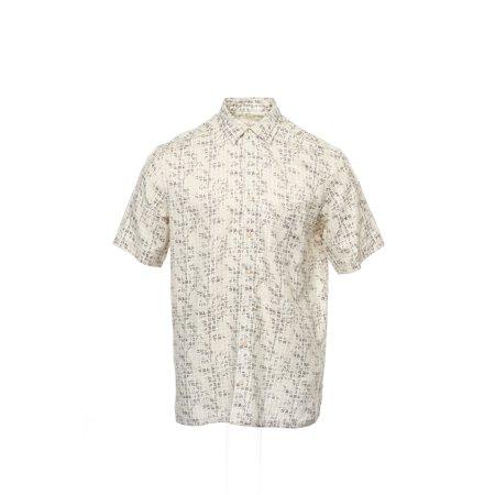 c1355f666944fe Tasso Elba - Tasso Elba ISLAND Khaki Checked Guayabera Shirt Camp Shirt