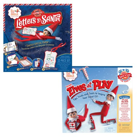 The Elf On The Shelf Play Bundle - 2pcs - Elves At Play Kit and Letters To