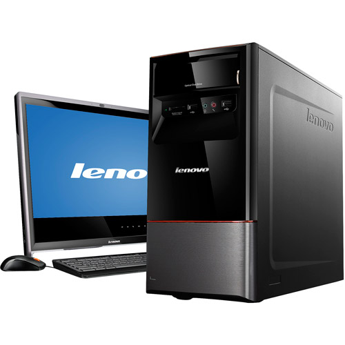 Lenovo H415 30991VU Desktop PC with AMD A4-3420 Processor, 6GB Memory, 500GB Hard Drive and Windows 7 Home Premium with Windows 8 Pro Upgrade Option (Monitor Not Included)