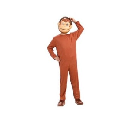 Curious George Child Costume And Mask Monkey Book Movie TV Show Cartoon](Watch Halloween Cartoon Movies Online)