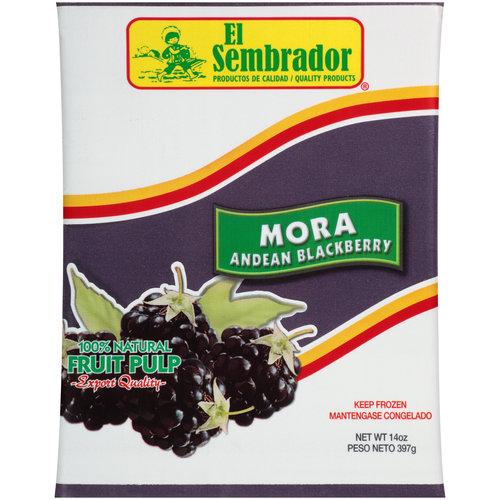 El Sembrador Mora Andean Blackberry Fruit Pulp, 14 oz